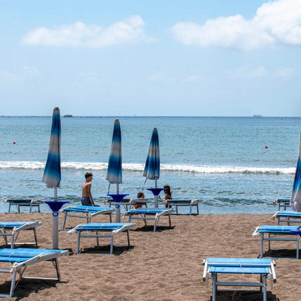 La spiaggia di Lucrino
